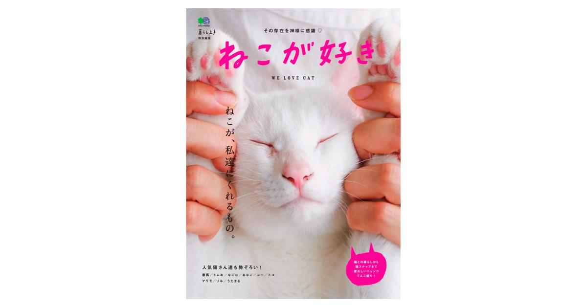 11/21発売『ねこが好き』(エイ出版社)で猫クッションと、猫用テントの作り方を担当しました(P82~89)